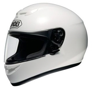 Scooter Safetly - While Full Face Helmet