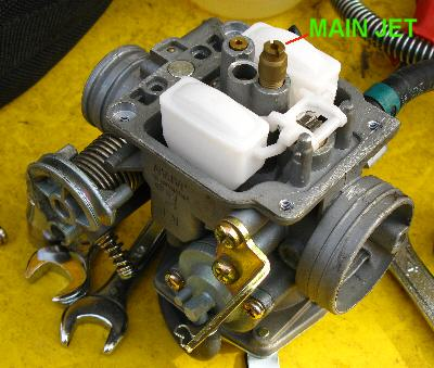 Carb on With Kymco 150 Carburetor Diagram On